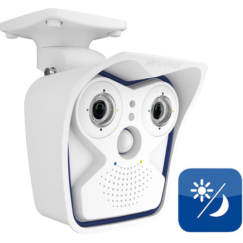 MOBOTIX MX-M15D-SEC AllroundDual M15 Modular Camera with 22mm Day and 22mm Night Sensor Modules
