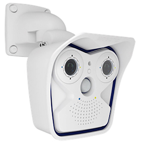 MOBOTIX M16 AllroundDual 6MP Outdoor Network Camera with Day & Night Sensor Modules and 2x B041 4.1mm Lens