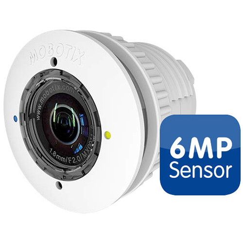 MOBOTIX 6MP Day Sensor Module with B237 Lens (Black)