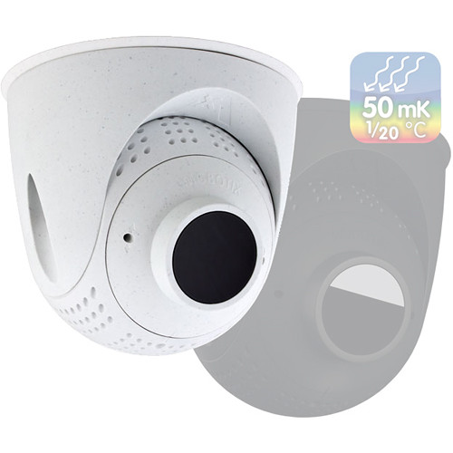 MOBOTIX PTMount-Thermal 50 mK with B079 Lens for S16/S15 Camera (45 Degree, White)