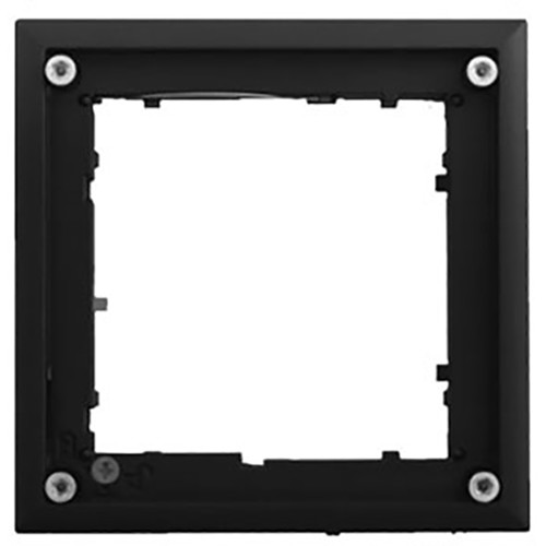 MOBOTIX FlatMount Frame for Door Station Modules (Black)