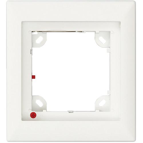 MOBOTIX Single Frame for T24 IP Door Station (Silver)