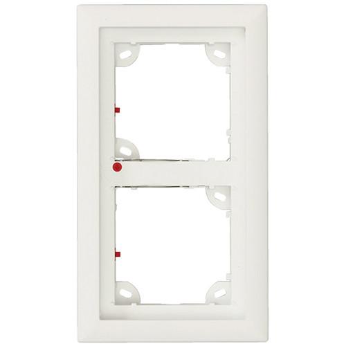 MOBOTIX Double Frame for T24 IP Door Station (Black)