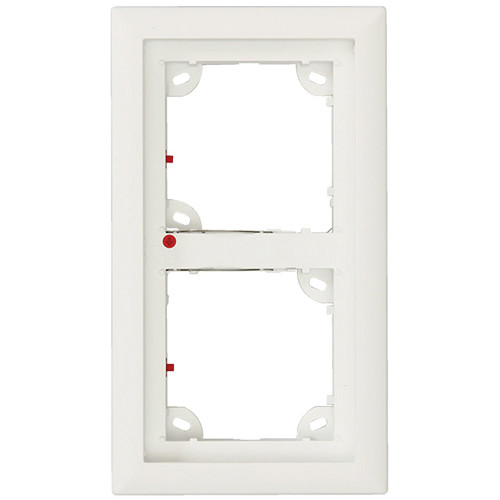 MOBOTIX Double Frame for T25 IP Door Station (White)