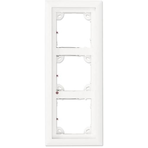 MOBOTIX Triple Frame for T25 IP Door Station (Silver)