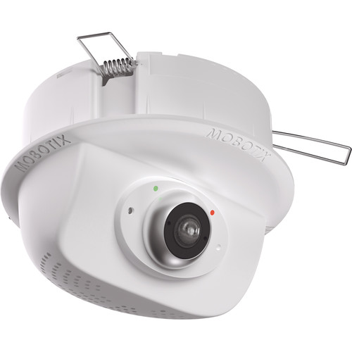 MOBOTIX p25 6MP Network Ceiling Camera with 1.6mm Lens and Audio