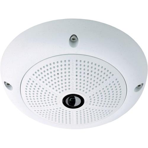 MOBOTIX Q25 6MP Hemispheric Network Camera with Night Sensor and 10mm Fisheye Lens (White)