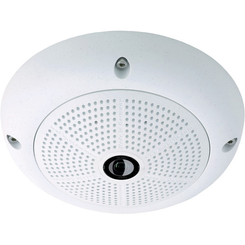 MOBOTIX MX-Q25M-Sec-Night-N25 Q25 Network Camera with 5MP Night Sensor and 25mm Super Wide-Angle Lens (White)