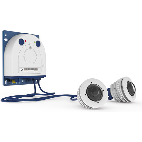 MOBOTIX S16 DualFlex Complete Cam Set 2 6MP Outdoor Network Camera Body with Two B016 Day Sensor Modules
