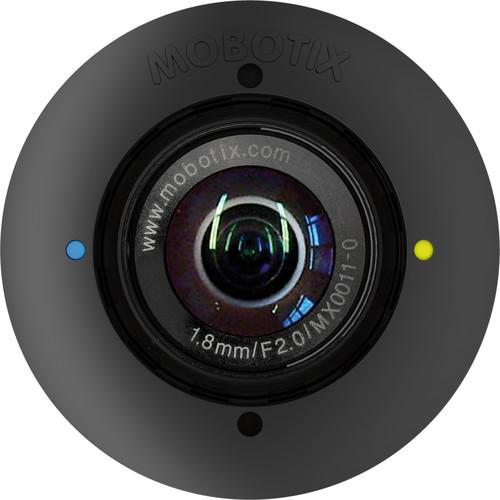 MOBOTIX 5MP Night S15/M15 Sensor Module with Hemispheric L12 Lens with Long-Pass Filter (Black)