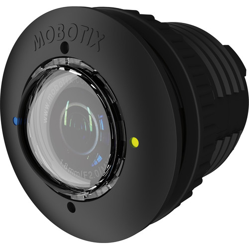 MOBOTIX 6MP Night S15/M15 Sensor Module with L43-F1.8 Lens with Long-Pass Filter (Black)
