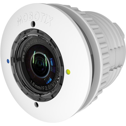 MOBOTIX 6MP Night S15/M15 Sensor Module with L43-F1.8 Lens (White)