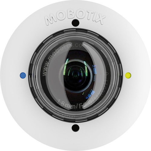 MOBOTIX 5MP Night S15/M15 Sensor Module with L76-F1.8 Lens (White)