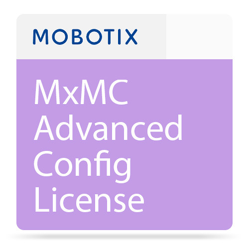 MOBOTIX MxMC Advanced Config License
