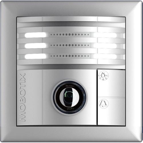 MOBOTIX T25 6MP Night Outdoor Door Station Camera (Silver)
