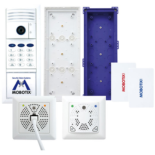 MOBOTIX MX-T25-SET2 6MP T25 Video Door Station Complete Kit