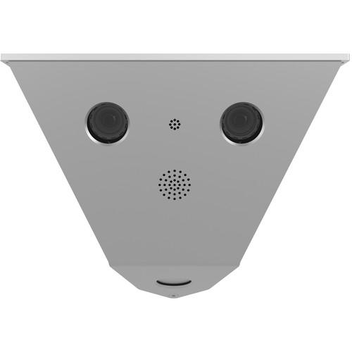 MOBOTIX V16 MX-V16A-6D6D079 6MP Outdoor Network Corner-Mount Camera with Two Day Sensors