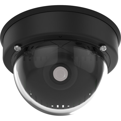MOBOTIX v25 6MP Network Dome Camera (Black, No Lens)