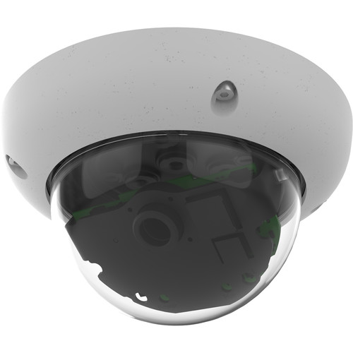MOBOTIX v26 6MP Network Camera with Night Sensor Module (White)