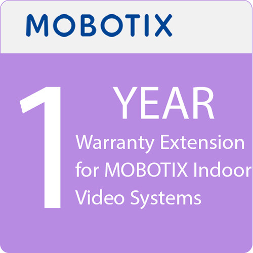 MOBOTIX 1-Year Warranty Extension for MOBOTIX Indoor Video Systems