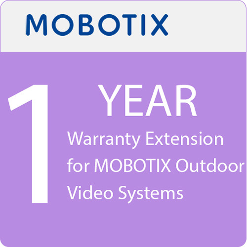 MOBOTIX 1-Year Warranty Extension for MOBOTIX Outdoor Video Systems