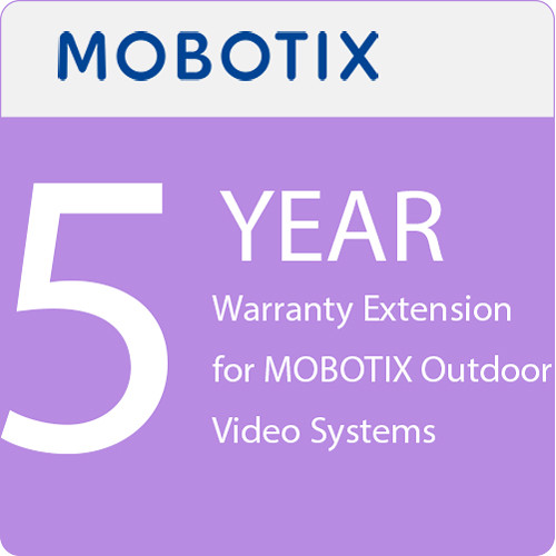 MOBOTIX 5-Year Warranty Extension for MOBOTIX Outdoor Video Systems