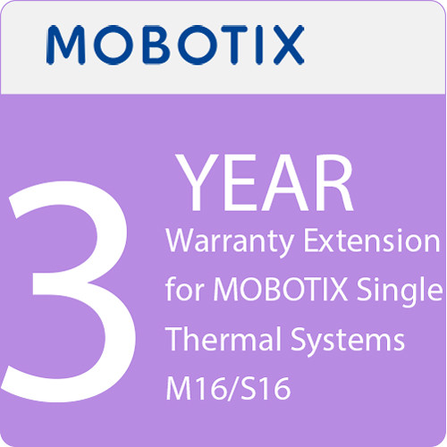 MOBOTIX 3-Year Warranty Extension for MOBOTIX Single Thermal Systems M16/S16