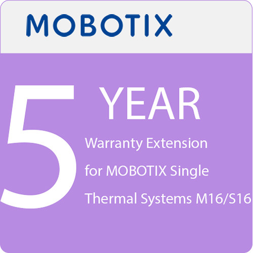 MOBOTIX 5-Year Warranty Extension for MOBOTIX Single Thermal Systems M16/S16