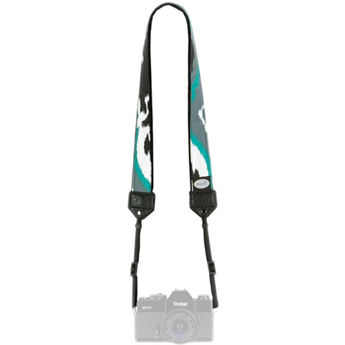 Mod Classic Camera Strap (Black Teal Ink)