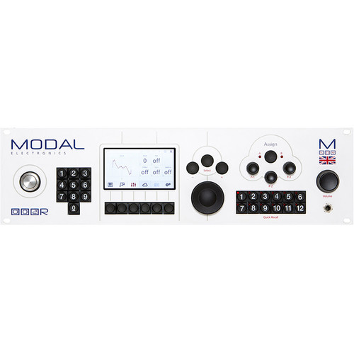 Modal Electronics 002R 12-Voice Polyphonic Analog / Digital Hybrid Synthesizer Rackmount Module