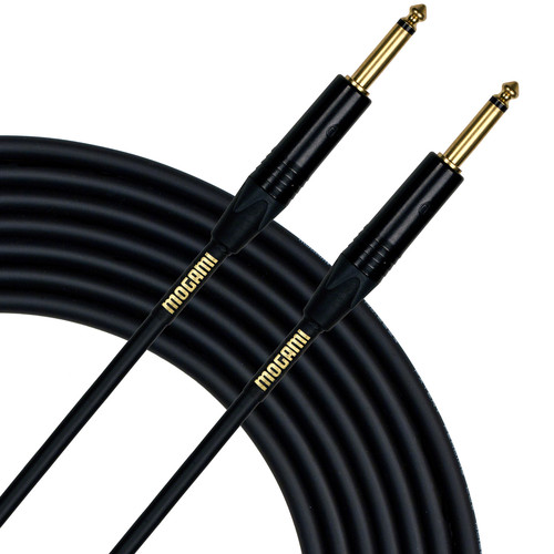 "Mogami Gold 1/4"" Male to 1/4"" Male Speaker Cable (14 Gauge, 10')"