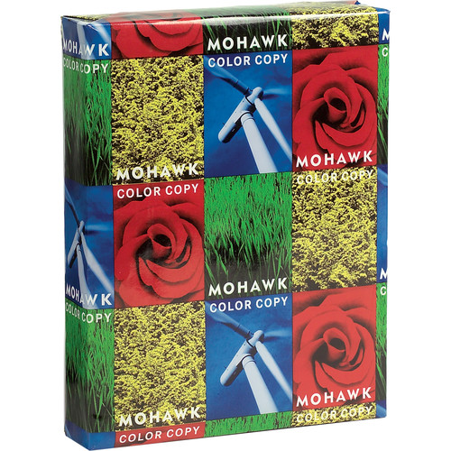 """Mohawk Fine Papers Color Copy 100% Recycled Paper (8.5 x 11"""", 500 Sheets)"""