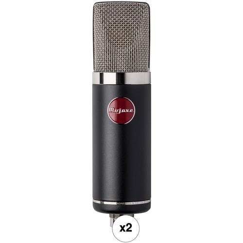 Mojave Audio MA-50 Large-Diaphragm Transformerless Condenser Microphones Kit (Pair)