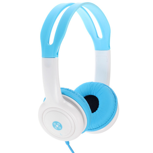 moki Volume-Limited Headphones for Kids (Blue)