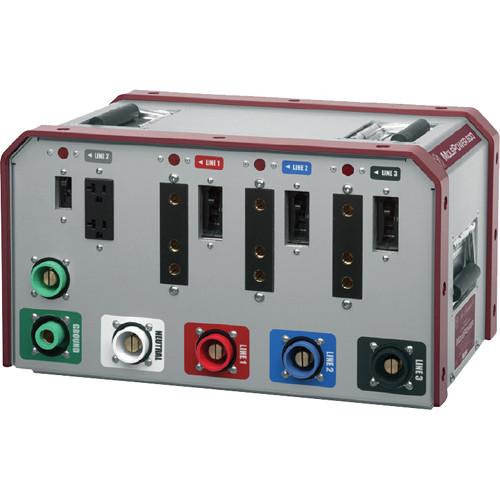 Mole-Richardson Cam-Lok Pass-Thru Plus 3-Phase Distribution Box (120V)