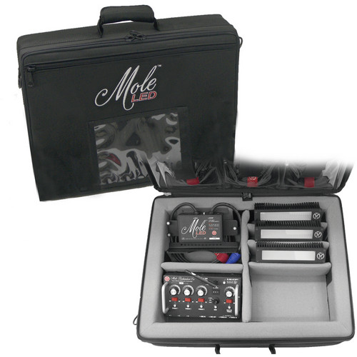 Mole-Richardson Tenba Air-Soft 3-Light Kit Case