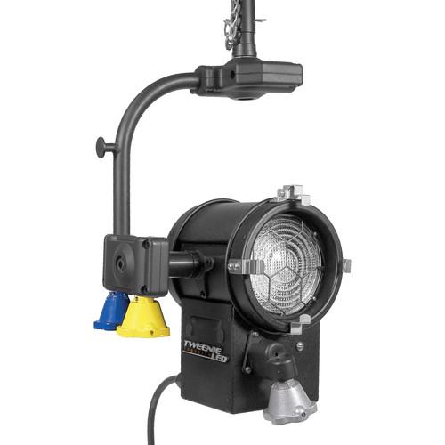 """Mole-Richardson TweenieLED 100W 4.5"""" Fresnel (Daylight, Pole-Operated)"""