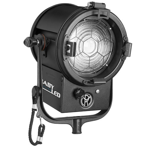 """Mole-Richardson BabyLED 150W 6.0"""" Fresnel with DMX for Grid Mounting (Tungsten)"""