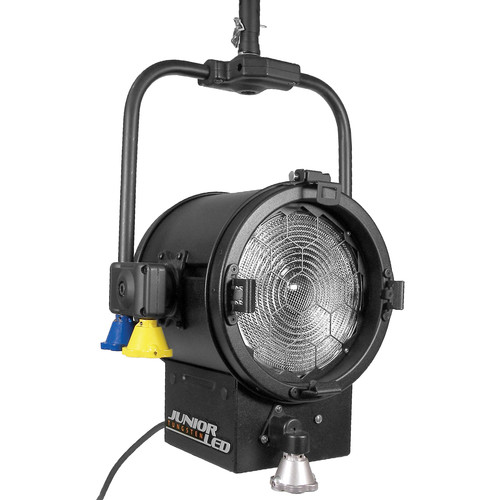 """Mole-Richardson JuniorLED 200W 8"""" Fresnel (Daylight, Pole-Operated)"""