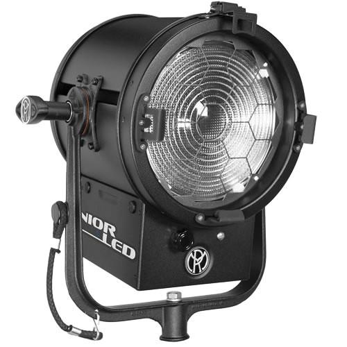 "Mole-Richardson JuniorLED 200W 8"" Fresnel with DMX (Daylight)"