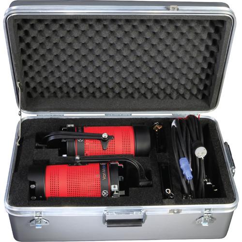 Mole-Richardson 200 Vari-Mole 2-Light LED Kit