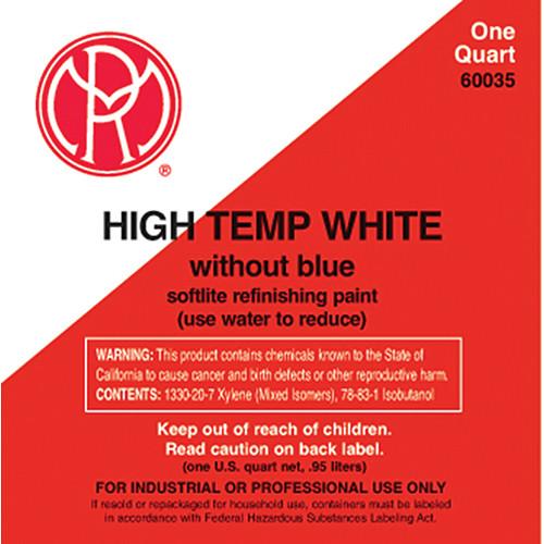 Mole-Richardson Water-Based High Temperature Paint (White, 1 Quart)