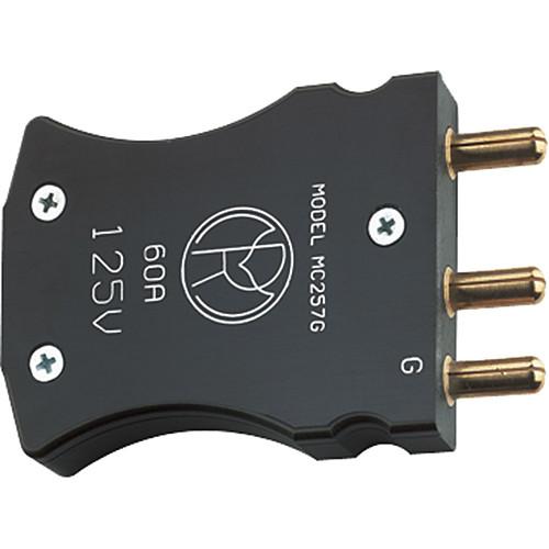 Mole-Richardson Male Bates Connector (60A/125V)
