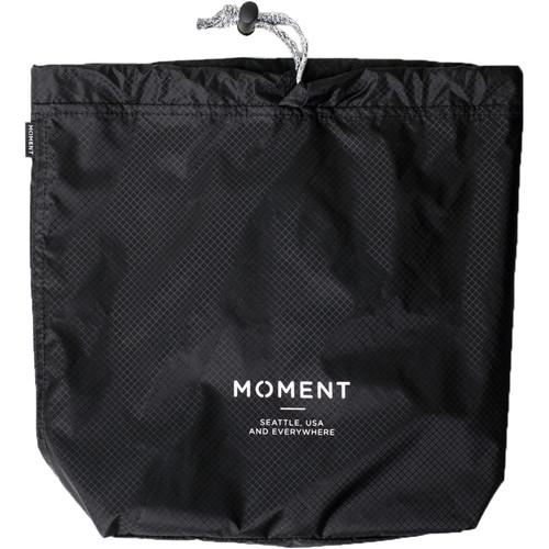 Moment Snackpack Stuff Sack (Black)