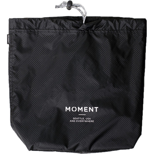 Moment Snackpack Stuff Sack (Black)