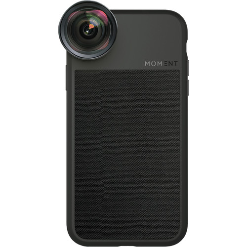 Moment Photo Case for the iPhone XR (Black Canvas)