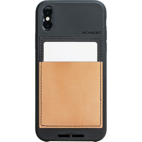 Moment Wallet Case for iPhone X (Black)