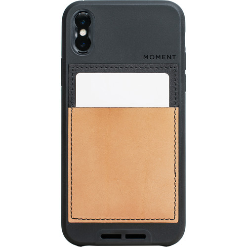 Moment Wallet Case for iPhone X (Natural)