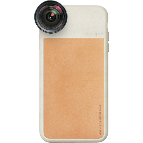 Moment Photo Case for the iPhone XS (Tan Leather)