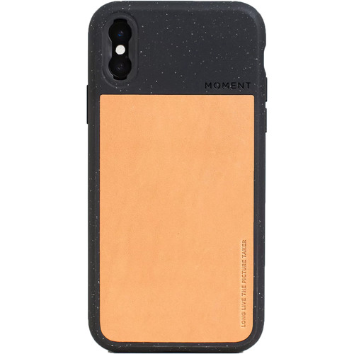 Moment Photo Case for the iPhone XS (Black Speckle)